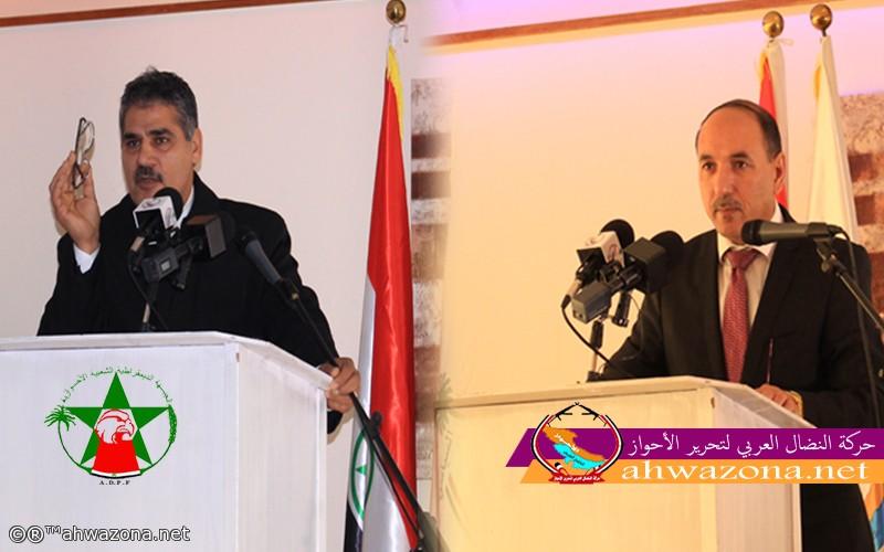 قيادة الجبهة الديمقراطية تهنئ السيد أحمد مولى رئيس حركة النضال بمناسبة عيد الفطر المبارك