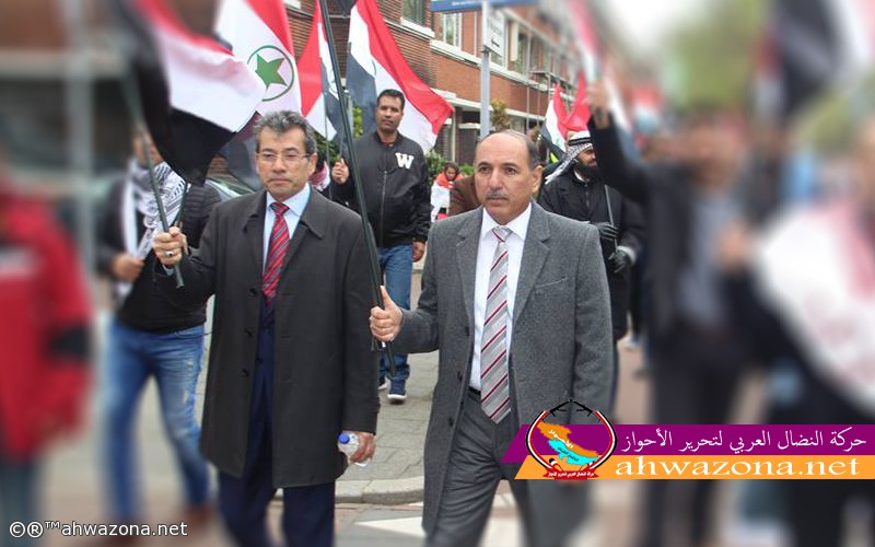 الأمين العام للجبهة العربية يهنئ السيد أحمد مولى رئيس حركة النضال بمناسبة عيد الفطر المبارك