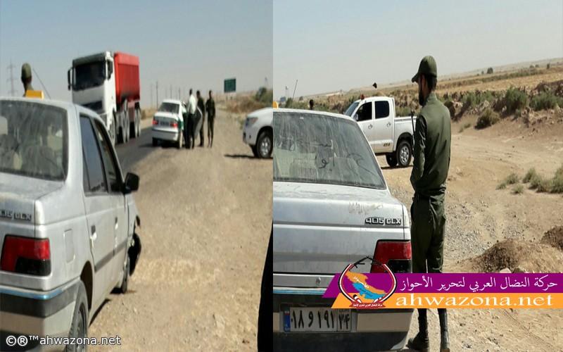 ام الدبس تشهد اشتباكات عنيفة بين مجموعة أحوازية وقوات الإحتلال الإيرانية