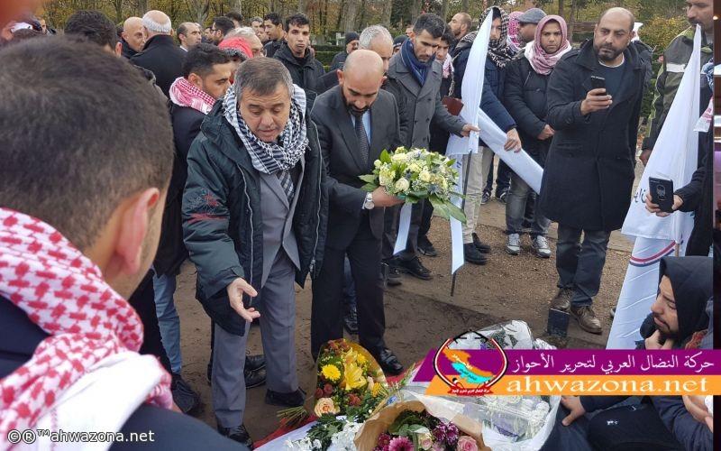 حشود كبيرة تحمل القائد شهيد أحمد مولى إلى مثواه الأخير