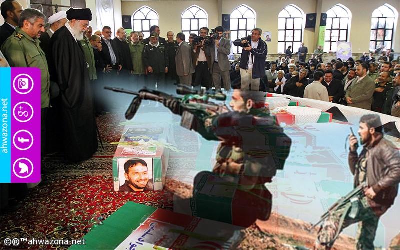 الدولة الفارسية تشيع ضابطين لقوا مصرعهم في سوريا