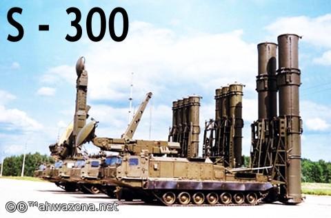 """بعد إستلام """"اس 300"""" خامنئي يزور قاعدة الدفاع الجوي ويهدد"""