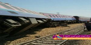 خروج مقطورات عن السكة في الأحواز وأنباء عن إصابات