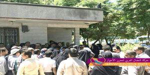 احتجاجات في الأحياء الشرقية لمدينة الأحواز العاصمة
