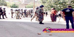 مواجهات عنيفة بين أهالي مدينة بانة الكوردية وقوات الإحتلال الإيراني