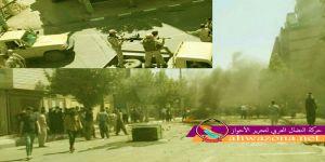 بعد المظاهرات الحاشدة إيران تعسكر المدن الكردية