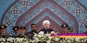 روحاني يتوعد بتطوير البرنامج الصاروخي ردا على تصريحات ترمب