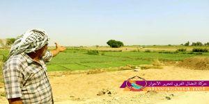 منع المزارعين الأحوازيين من الزراعة بموسم الخريف في مدينة الفلاحية