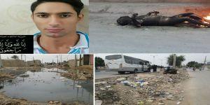 انتحار شاب أحوازي نتيجة الوضع المأساوي في الأحواز