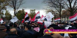 حشود كبيرة تشيع القائد شهيد أحمد مولى إلى مثواه الأخير