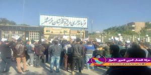 #عاجل : مظاهرات واسعة في المحمرة