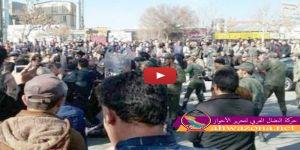 الاحتجاجات تعم المدن الأحوازية وتتوسع في مختلف المحافظات الإيرانية