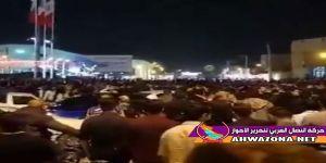 عاجل: مظاهرة حاشدة تنطلق من حي الثورة وأنباء عن إشتباكات