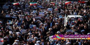 فشل المظاهرات التي دعى لها الإحتلال في إيران