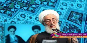 خطيب صلاة الجمعة في طهران: الاحتجاجات الايرانية عمل امريكي صهيوني سعودي