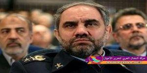 زيارة قائد سلاح الجو الايراني لمدينة القنيطرة شمال الاحواز
