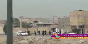 اشتباكات بين قوات الإحتلال الإيراني والأحوازيين