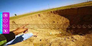 ظاهرة الحُفَر الأرضية تهدد حياة المواطنين في مدينة مَنَاب
