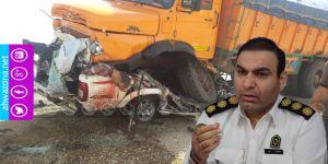 الأحواز تحل المرتبة الأولى في إحصائية عدد وفيات حوادث المرور