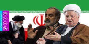 رفسنجاني يكشف عن وجود شخصيات معادية للمرشد في أهم المراكز الإيرانية