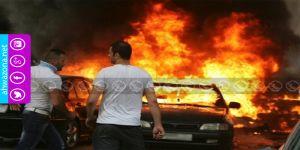 إنفجار شديد يهز مدينة القنيطرة شمال الأحواز