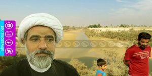 معاناة مواطني مدينة التميمية بسبب تجفيف الإحتلال نهر الزهرة