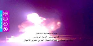 بالفيديو - كتائب محيي الدين تفجر خطوط نفط إستراتيجية شمال الأحواز